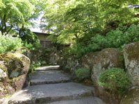 石畳も美しい箱根美術館