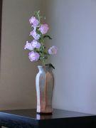 花瓶と花の取合せが見事
