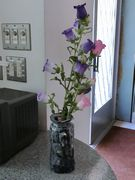 切られた花もその場所で精一杯花開く