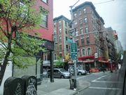 NYの住宅街は、古いヨーロッパの町並みに似ている気がした