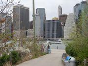 ニューヨークの町並み。もう思い出になりつつある。