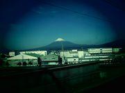 富士山の様にどんな時も凛としていたい。