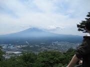 私の姓は富士山に関係があることをこの前の法事で始めて知った。
