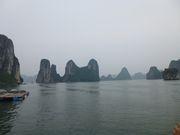 桂林の様なハロン湾の風景