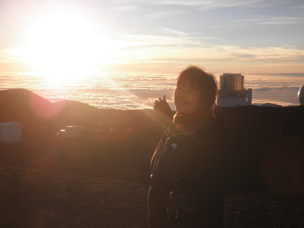 マウナケアの夕日